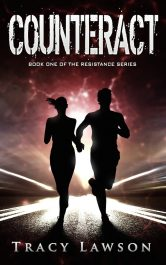 bargain ebooks Counteract Young Adult/Teen SciFi Thriller by Tracy Lawson