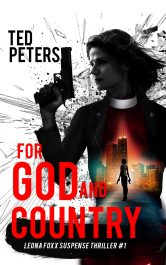 bargain ebooks For God and Country International Espionage Thriller by Ted Peters