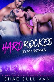 bargain ebooks Hard Rocked By My Bosses: A MFM Rockstar Menage Romance Erotic Romance by Shae Sullivan