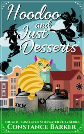 bargain ebooks Hoodoo and Just Desserts Fantasy Mystery by Constance Barker