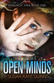 bargain ebooks Open Minds (Mindjack: Kira Book 1) Young Adult/Teen SciFi by Susan Kaye Quinn