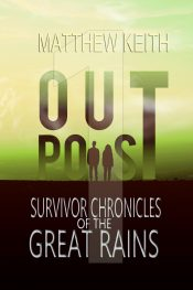 bargain ebooks Outpost Science Fiction Thriller by Matthew Keith
