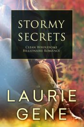 bargain ebooks Stormy Secrets Clean Wholesome Romance by Laurie Gene