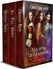 bargain ebooks Tales of the Latter Kingdoms, Books 1-3 Romantic Fantasy by Christine Pope