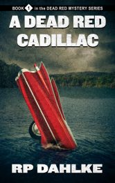 bargain ebooks A Dead Red Cadillac Mysteryby RP Dahlke