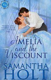 bargain ebooks Amelia and the Viscount Historical Romanceby Samantha Holt