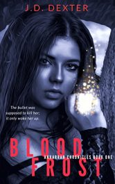 bargain ebooks Blood Frost Paranormal Thriller by J.D. Dexter