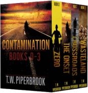 bargain ebooks Contamination Boxed Set Action/Adventure SciFi by T.W. Piperbrook