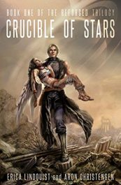 bargain ebooks Crucible of Stars SciFi Adventure by Erica Lindquist & Aron Christensen