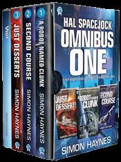 bargain ebooks Hal Spacejock Omnibus One Science Fictionby Simon Haynes