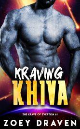 bargain ebooks Kraving Khiva Scifi-Paranormal Romance by Zoey Draven