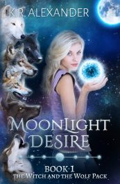 bargain ebooks Moonlight Desire Paranormal Romance by K.R. Alexander
