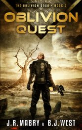 bargain ebooks Oblivion Quest Military Science Fiction by J.R. Mabry & B.J. West