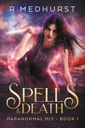 bargain ebooks Spells & Death Urban Fantasy by Rachel Medhurst