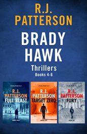 amazon bargain ebooks The Brady Hawk Series: Books 4-6  Action Adventure Thriller by R.J. Patterson