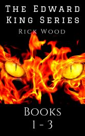 bargain ebooks The Edward King Series Books 1 - 3  Paranormal Horror by Rick Wood