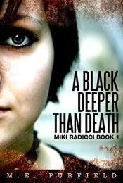 bargain ebooks A Black Deeper Than Death YA Fantasy Mystery by M.E. Purfield