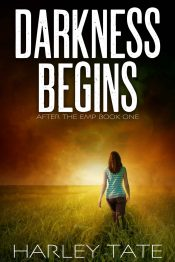 bargain ebooks Darkness Begins Post-apocalyptic Scifi by Harley Tate