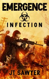 bargain ebooks Emergence: Infection Science Fiction by JT Sawyer
