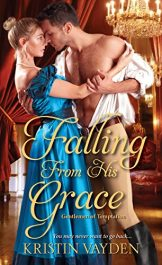 bargain ebooks Falling From His Grace Historical Romance by Kristin Vayden