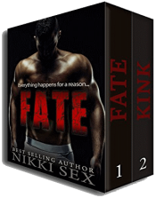 bargain ebooks Fate and Kink: The Duology Erotic Romance by Nikki Sex