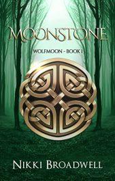 amazon bargain ebooks Moonstone: Wolfmoon Book 1 Historical Fantasyby Nikki Broadwell