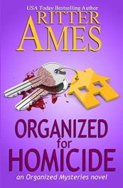 bargain ebooks Organized for Homicide Cozy Mystery by Ritter Ames