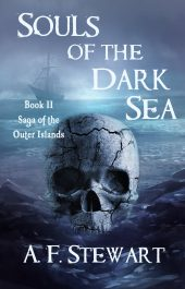 amazon bargain ebooks Souls of the Dark Sea (Saga of the Outer Islands Book 2)  Dark Fantasy / Horror by A. F. Stewart