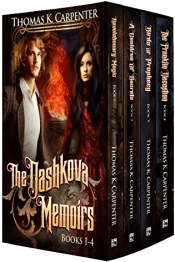 bargain ebooks The Dashkova Memoirs (Books 1-4)  Historical Fantasy by Thomas K. Carpenter