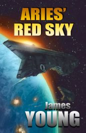 bargain ebooks Aries' Red Sky Military Science Fiction by James Young