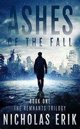 bargain ebooks Ashes of the Fall Science Fiction by Nicholas Erik