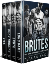 bargain ebooks Brutes: The Complete Beckett Brothers Contemporary Romance by Teagan Kade