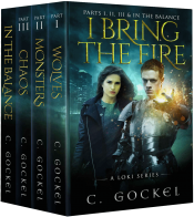 bargain ebooks I Bring the Fire Parts I, II, III, & In the Balance Fantasy by C. Gockel