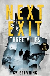 amazon bargain ebooks Next Exit, Three Miles Mystery by CW Browning