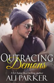 bargain ebooks Outracing Demons Suspense Romance by Ali Parker