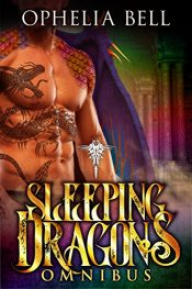 bargain ebooks Sleeping Dragons Omnibus Erotic Romance by Ophelia Bell