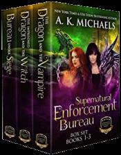 bargain ebooks Supernatural Enforcement Bureau Boxset Books 1 - 3 Sword & Sorcery Romance by A. K. Michaels