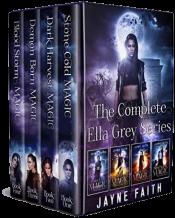 bargain ebooks The Complete Ella Grey Series Fantasy by Jayne Faith