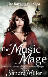 bargain ebooks The Music Mage Romantic Fantasy by Sandra Miller