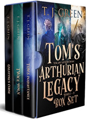 bargain ebooks Tom's Arthurian Legacy Box Set: Books 1-3 Young Adult/Teen by TJ Green