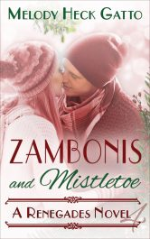 bargain ebooks Zambonis and Mistletoe Holiday Romance by Melody Heck Gatto