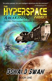 bargain ebooks Awakening: The Hyperspace Project Science Fiction by Donald Swan