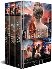 bargain ebooks The Dragon-Born Saga Books 1-3 YA Fantasy Adventure by K.N. Lee