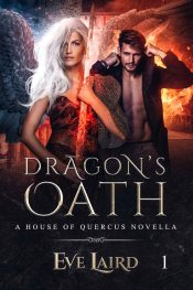 bargain ebooks Dragon's Oath Paranormal Romance by Eve Laird