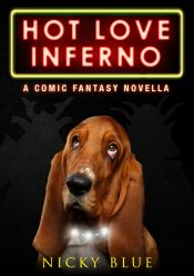 bargain ebooks Hot Love Inferno Dark Comedy Fantasy Adventure by Nicky Blue