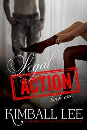 bargain ebooks Legal Action Book One Erotic Romance by Kimball Lee