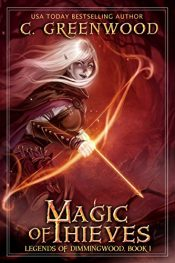 amazon bargain ebooks Magic of Thieves Fantasy by C. Greenwood