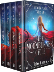 bargain ebooks The Moonburner Cycle: The Complete Epic Fantasy Series Young Adult/Teen Epic Fantasy by Claire Luana