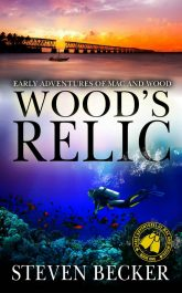 bargain ebooks Wood's Relic Action Thriller by Steven Becker