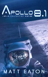 bargain ebooks Apollo 8.1 Alternate History SciFi by Matt Eaton